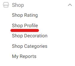 Shopeeアカウント設定
